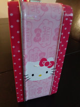 1976  Hello Kitty by Sanrio USA Tin Lunch Box  Tin Box Co. Dongguan,China image 3