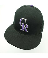 Colorado Rockies New Era 59Fifty Ball Cap Hat Fitted 7 5/8 Baseball - $13.85
