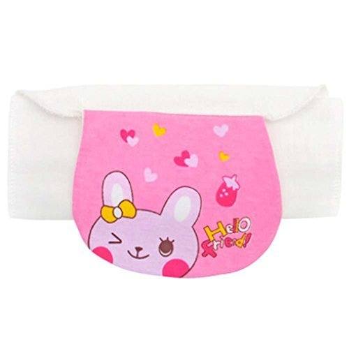 Set of 2 Rabbit Style Medium Size Baby Cotton Sweat Absorbent Towels