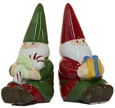 Midwest CBK Christmas Gnomes 3.5 Inch Tall Salt & Pepper Set - $15.79