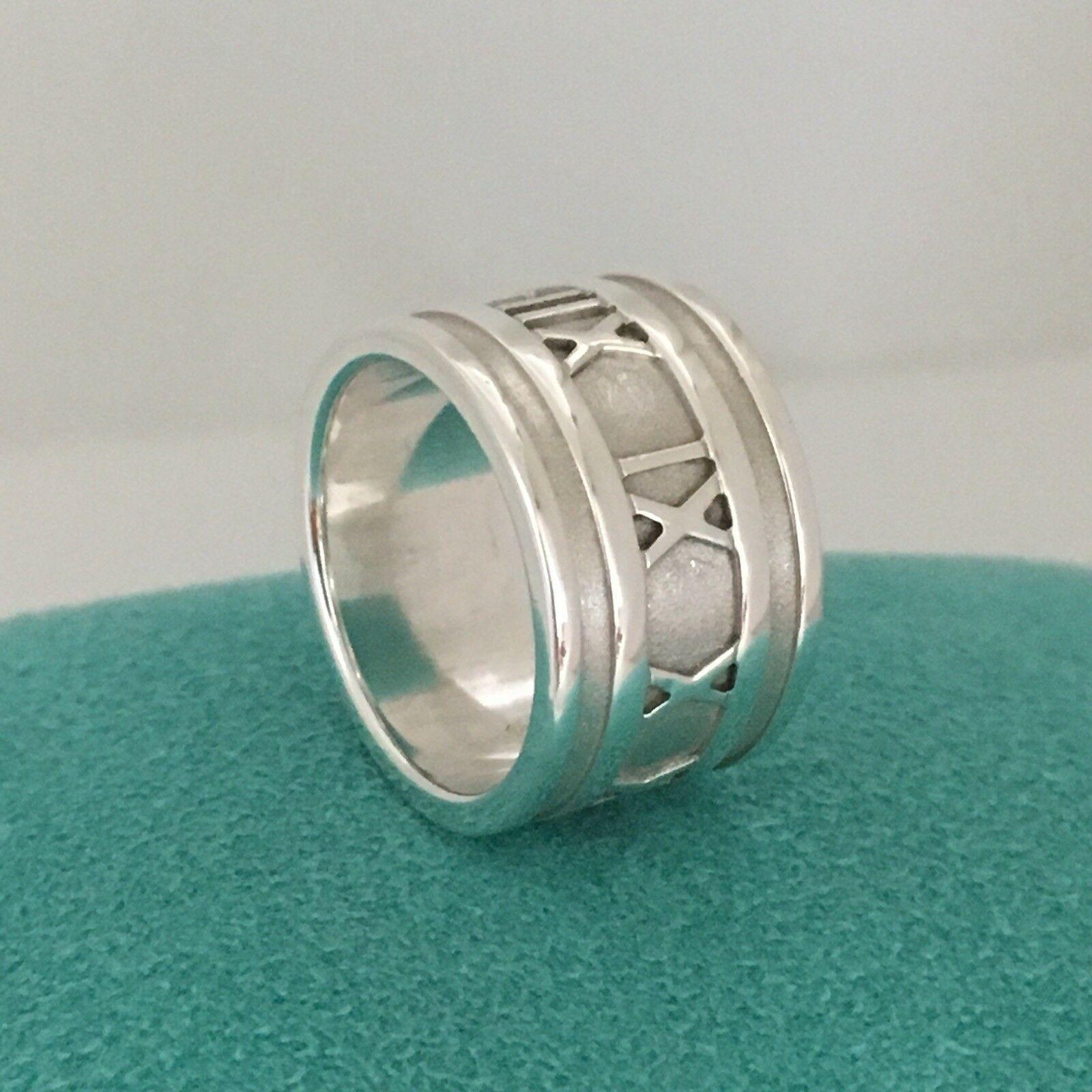 aba34f350 Size 5 Tiffany & Co Men's Unisex Atlas Ring and similar items. 57