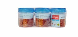 MILTON PLASTIC BOTTLES AND CONTAINERS CRISP 'N' Clear Round Jar 200 ml s... - $15.00