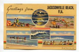 Greetings from Jacksonville Beach Florida - $0.99