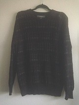 Croft & Barrow Vintage 90's Men's Large Sweater Textured Knit Burgundy G... - $21.53