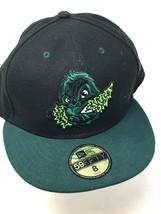 Eugene Emeralds Black Hat Sz 8 Minor League Baseball 59 Fifty New Era Pa... - $29.65