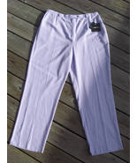 Ladies Sag Harbor Dress Pants Lilac Lavender  Size 18 NWT - $19.95