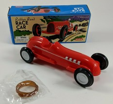 RUBBER BAND RACE CAR Open Wheel Sprint Indy Racer Plastic Wind-Up Toy Sc... - $8.59