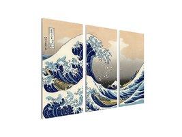 "Pingo World 0426Q04MRTG ""Japanese Hokusai Great Wave off Kanagawa"" Gallery Wrapp - $128.65"