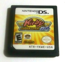 Kirby Super Star Ultra  Nintendo DS, 2008 Game Only No Case - $17.79