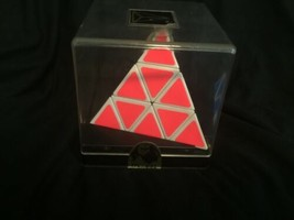 NOS New Vintage Sealed in Box Vintage PYRAMINX PUZZLE by TOMY Rubik's Type 1980s image 2