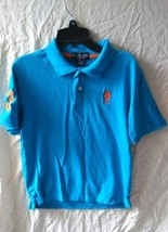 U.S Polo Assn Boys Blue Polo Shirt Size 18 - $8.99