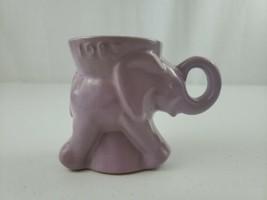 VTG 1983 Frankoma GOP Lt. PURPLE Elephant Political Mug Excellent For Co... - $20.00