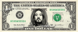 STEVE AOKI on Real Dollar Bill Cash Money Collectible Memorabilia Celebrity Nove - $8.88