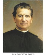 "Catholic Print Picture St. JOHN BOSCO Don San Giovanni 7 1/2 x10"" ready ... - $14.01"
