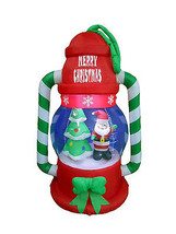 Christmas Inflatable Lantern Lamp Santa Tree LED Lights Yard Outdoor Dec... - $99.00