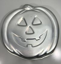 1981 WILTON Jack-o-Lantern Cake Pan 502-2928 Halloween Pumpkin - $29.65
