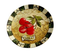 CAPE ANNE Ceramic Salad Plate COLLECTION Formalities by Baum Bross - $11.99