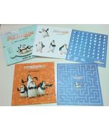 Penguins of Madagascar Movie Sticker Puzzle Set Private Skipper Rico Kow... - $3.95