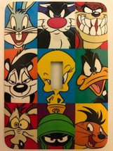 Loony Tunes Metal Switch plate Cartoons - $9.50