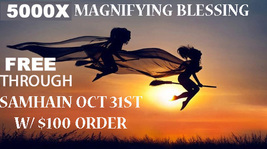FREE W/ ANY $100 ORDER THOUGH OCT 31 SAMHAIN 300X MAGNIFY MAGICK HALLOWE... - $0.00