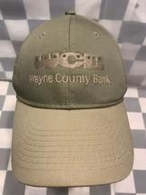Wayne County Bank Adjustable Adult Cap Hat - $11.57