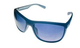 Kenneth Cole Reaction Mens Sunglass Matte Grey Wrap, Gradient Len KC1368 7B - $17.99