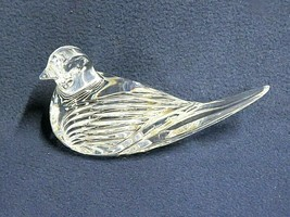 Waterford Crystal Dove Bird Paperweight - $29.65