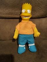 "Simpsons Bart Simpson 9"" Vinyl / Plush Doll - 1990 Vintage!!!!!! - $29.02"