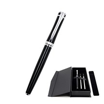 Rollerball Pens Fine Point, Micro 0.5mm Black Ink for Men with Pen Bag a... - $14.23