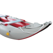 12FT INFLATABLE KAYAK FISHING TENDER INFLATABLE CANOE BOAT WITH AIR DECK FLOOR image 5