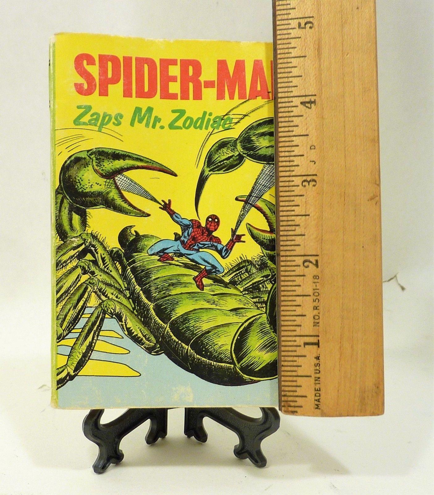 Big Little Books Whitman Spider Man Zaps Mr. Zodiac