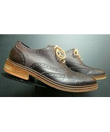 Men's Cole Haan Brown Leather Casual Cool Oxford Sz. 9.5M MINTY! - $56.53