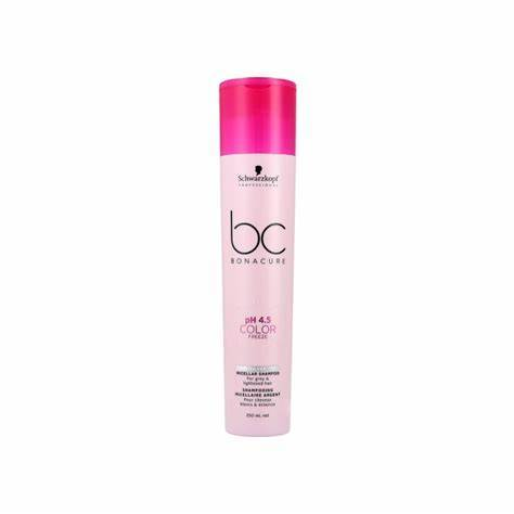 Schwarzkopf Professional Bonacure Color Freeze Silver Micellar Shampoo  8.5oz