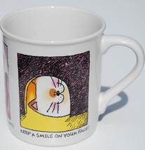 "Hallmark Cards Mug-Mates Cat Kitten 3.5"" Tea Coffee Mug Excellent Made in Japan - $14.84"