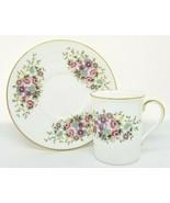 Danbury Mint ROYAL DOULTON Demitasse Cup Saucer Porcelain Houses of the ... - $12.95