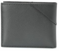 Guess Men's Premium Leather Credit Card ID Billfold Wallet Black 31GU22X003 image 2