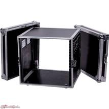 """DeeJay LED 10 RU Amplifier Deluxe Flight Case (18"""" Deep) - $399.00"""