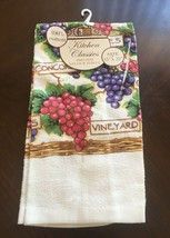 """Better Home Kitchen Classics Printed Velour Towel (15 X 25"""") - $7.95"""