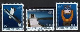 1991 Observatories Set of 3 Vatican Postage Stamps Catalog Number 885-87 MNH