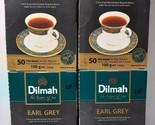 Dilmah earl grey pure Ceylon Premium tea - 50 Bags 100g (3.53oz) X 4 packs - $27.90