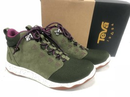 TEVA ARROWOOD MID WP Olive Green LEATHER TRAIL HIKING SHOES 1012483 size... - $79.99