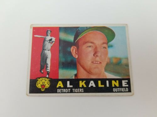 1960 Topps Al Kaline #50 Detroit Tigers Baseball Card Vg-Ex No Creases HOF'er - $15.47