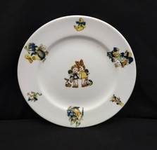 "Vintage Mayer China Children's Plate 8 1/4"" Toys Teddy Bear Ducks Dog Frog - $25.00"