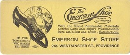 Vintage Ink Blotter Emerson Shoe Store Providence R.I. - $15.84