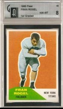 1960 Fleer #43 Fran Rogel GAI 8 NM MT - $69.25