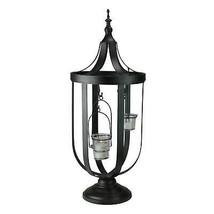 """Melrose 22"""" Decorative Antique-Style Bronze Birdcage Glass Votive Candle... - €52,20 EUR"""