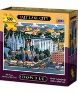 Dowdle Jigsaw Puzzle - Salt Lake City - 500 Piece - $23.30