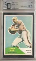 1960 Fleer #38 Jack Lee GAI 8.5 RC Rookie - $63.05