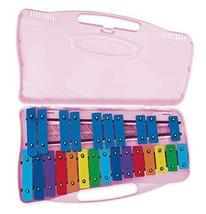 Angel Musical Instrument AG-25N2 Kids Music Glockenspiel Xylophone 25 Keys (Pink