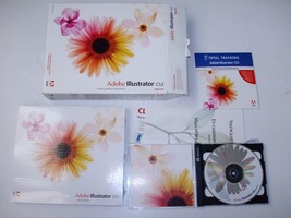 Adobe Illustrator CS2 Upgrade for Mac OSX with Manual and 2 CD's - $32.58